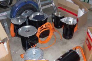 Elektrofahrzeuge Asynchronmotoren
