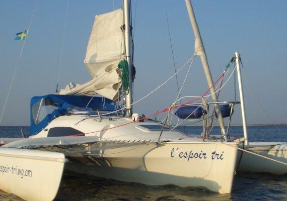 Umbau Trimaran Corsair F24