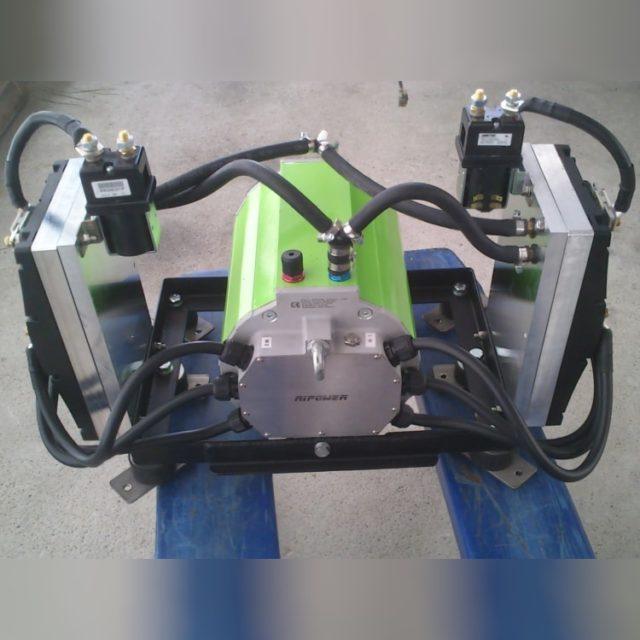 Elektroboot 100 kW Innenborder 1